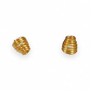 Gold Wax Springs, .066 (10 / bag)