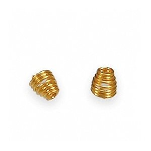 Gold Wax Springs, .087 (10 / bag)