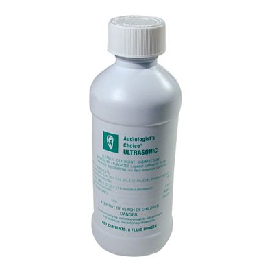 Audiologist's Choice® Ultrasonic Disinfectant / Cleaner Concentrate (8 oz)