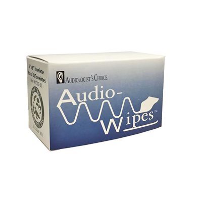 AudioWipes Singles Towelettes (30 / box)