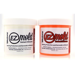 Westone EZ Mold - Large, 8oz, ORANGE