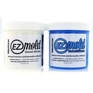 Westone EZ Mold - Large, 8oz, BLUE