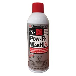 Chemtronics Pow-R-Wash Contact Cleaner (12 oz)