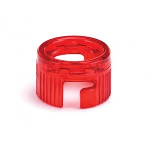 Westone Best Syringe Clear Retainer Ring - Translucent Red (each)