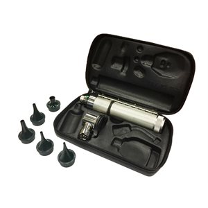 Welch Allyn 3.5V Pneumatic Otoscope, 71000-A Handle & Hard Case