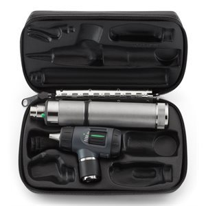 Welch Allyn 3.5V MacroView Otoscope, 71000-A Handle & Hard Case