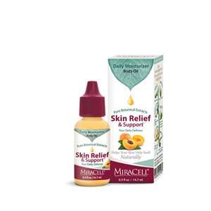 Miracell Skin Relief & Support Oil (0.5oz, in box)