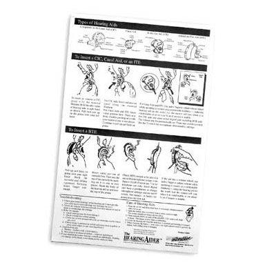 The Hearing Aider (50 sheets / pad)