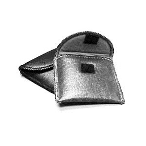 Deluxe Hearing Aid Pouch (black)