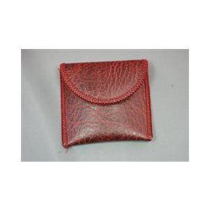 Deluxe Hearing Aid Pouch (burgundy)