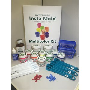 Insta-Mold Featherweight Multi-Color Starter Kit - Large, 8oz