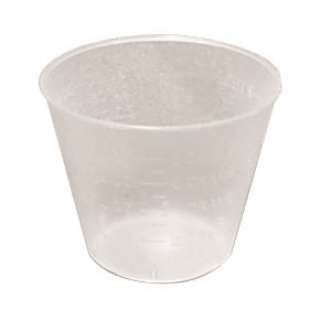 Mixing Cups - Plastic, 1 oz (100 / pack)