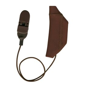 Ear Gear Cochlear Monaural Corded (Chocolate Brown)