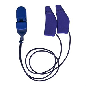 Ear Gear Mini Binaural Corded (Royal Blue)