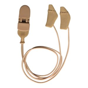 Ear Gear Micro Binaural Corded (Beige)