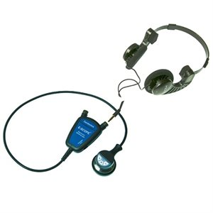 E-Scope II Belt Model with Convertible Headphones (no earpieces)
