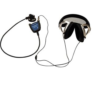 E-Scope II Belt Model with Oversized Headphones (no earpieces)