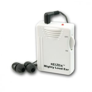 Reizen Mighty Loud Ear Personal Hearing Amplifier