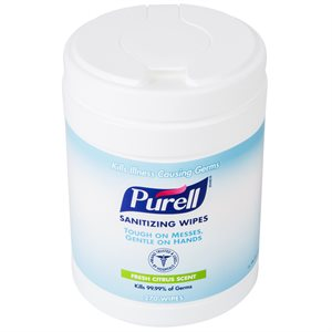 ** UNAVAILABLE - Purell Sanitizing Hand Wipes (270 / canister)
