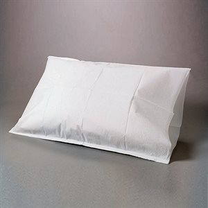 "FABRICEL Tissue / Poly Pillowcase Covers - 21"" x 30"", Blue Color (100 / pack)"