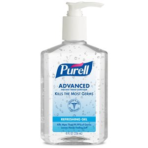 Purell Advanced Instant Hand Sanitizer (8oz pump bottle)