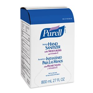 Purell Advanced Instant Hand Sanitizer Dispenser Refill (800ml refill for 9621)