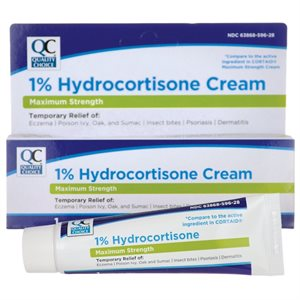 Quality Choice 1% Hydrocortisone Cream (1 oz tube)