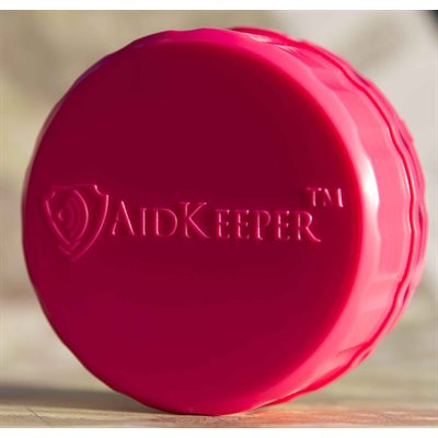 AidKeeper Alturas Hearing Device Case - Hot Pink