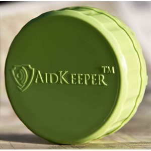 AidKeeper Alturas Hearing Device Case - Lime Green