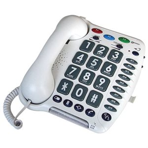 Geemarc Ampli200 Amplified Corded Telephone (white)
