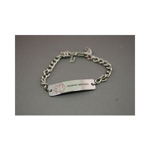 Medical Alert Bracelet For Hearing Loss