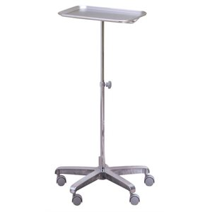 Aluminum Instrument Tray and Stand