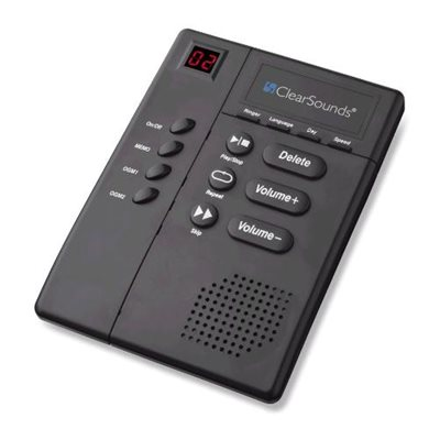 ClearSounds Amplified Answering Machine