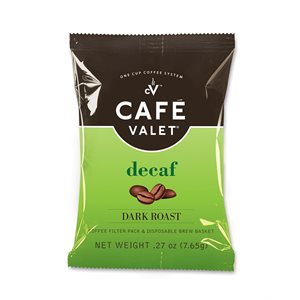 Cafe Valet One Cup Coffee - DECAF