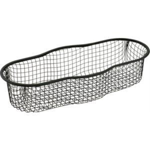 "Cafe Valet Wire Presentation Basket - 5"" X 12"", Black Color"