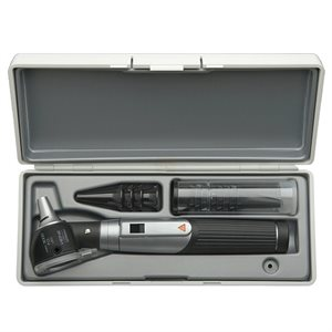 Heine Mini 3000 LED FO Otoscope Set w /  Hard Case & Specula