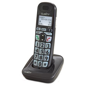 Clarity D703HS Cordless Expandable Handset for E814 Corded Phone