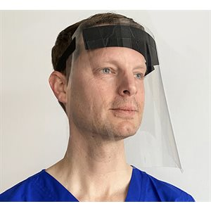 ** Face Shield - Clear, Adjustable, Reusable (each)