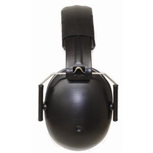 Baby Banz Junior Earmuff - Black (1 unit)