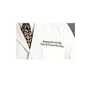 "Men's Lab Coat (38"" length) with Custom Embroidery"