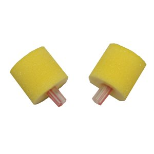 Etymotic OAE FOAM Eartips with Red Stripe on Tube - 13mm, Adult, Yellow (25 / pk)