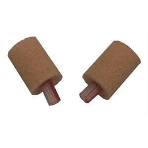 Etymotic OAE FOAM Eartips with Red Stripe on Tube - 10mm, Ped, Beige (25 / pk)