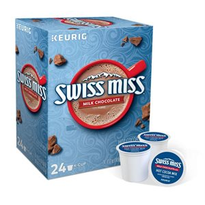 Swiss Miss Milk Chocolate Hot Cocoa K-Cups (24 / box)
