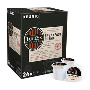 Tuly's Breakfast Blend Coffee K-Cups (24 / box)