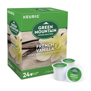Green Mountain French Vanilla Coffee K-Cups (24 / box)