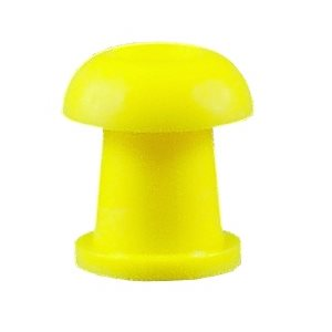 Grason IA Series Single Use Eartips - 10mm, Yellow (100 / pk)