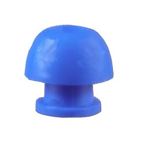 Grason IA Series Single Use Eartips - 12mm, Blue (100 / pk)