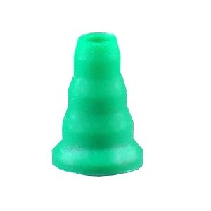 Grason IA Series Single Use Eartips - 3-6mm, Green (100 / pk)