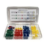 Sanibel ADI Series Single Use Eartip Kit - 101 / kit (Assorted Sizes)