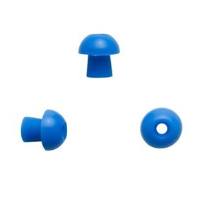 Sanibel ADI Series Single Use Mushroom-Shaped Eartips - Blue, 11mm (100 / bag)